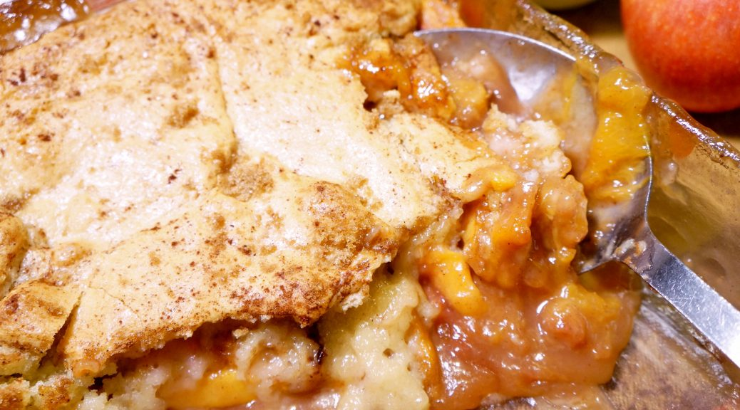 Country Peach Cobbler