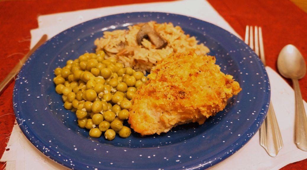 Crispy Baked Parmesan Chicken