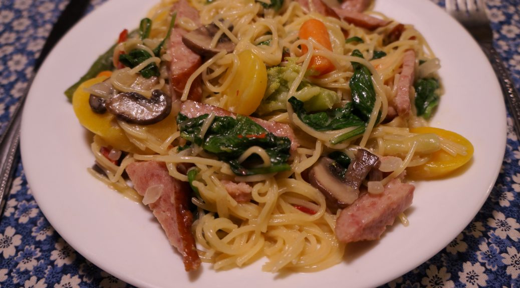 Smoked Sausage and Veggie Pasta